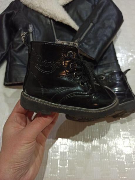 Лаковые ботинки ботиночки