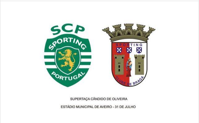 Final da supertaça -1 Bilhete Sporting—SpBraga 31.07.2021