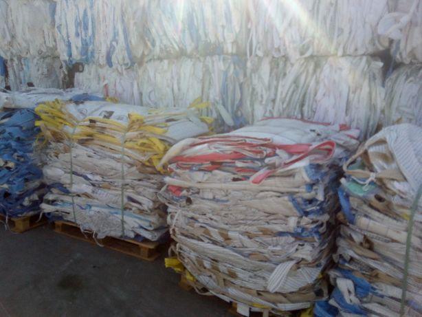 Worki Big Bag Uzywane 90/90/120cm na metale kolorowe złom gruz itp