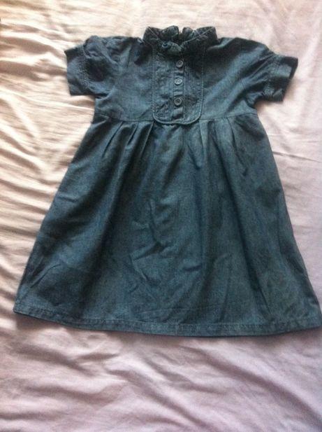Плаття платье туніка туника джинсове для дівчинки для девочки