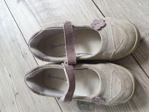 Skórzane buciki r 28 wkładka 18,5cm
