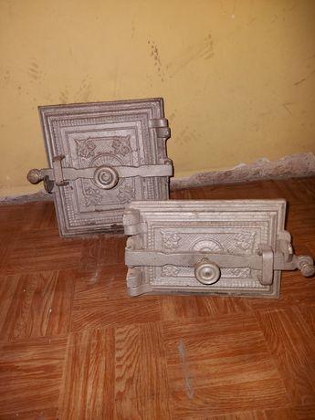 Drzwi do pieca kaflowego ,ornamenty