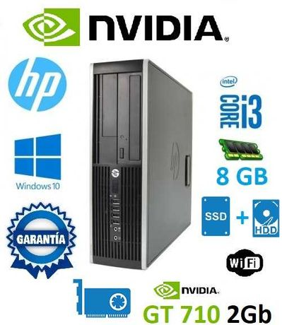 PC Gamer Lowcost - Intel Core i3 / 8Gb / SSD / Nvidea GT710 / Garantia
