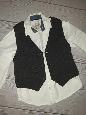 Рубашка, поло, жилет, реглан h&m george