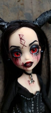 Кукла лялька ооак готика