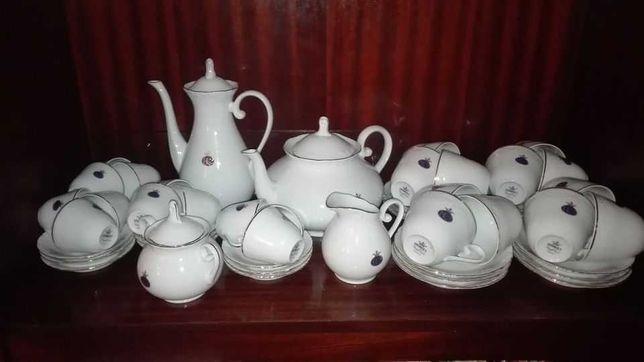 Serviço de chá e café de coleção george v