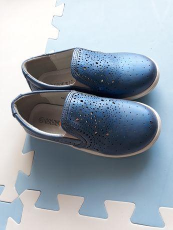 Buty półbuty skórzane rozm 27