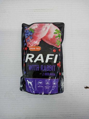 Karma dla psa Rafi z królikiem