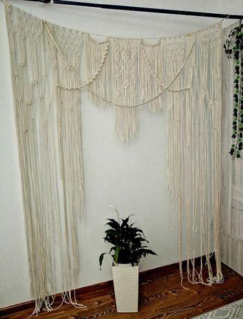 WYPRZEDAŻ Makrama ślubna tło do sesji -dostępna od ręki