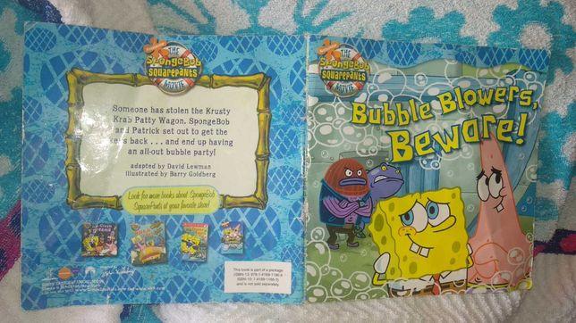 книга на английском патрик спанч боб SpongeBob  Sponge Bob
