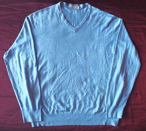 Свитер пуловер Ermenegildo Zegna оригинал Италия 70% кашемир, 30% шелк