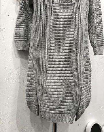 Платье вязаное зимнее colin's M новое