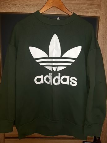 Bluza Adidas Originals Trefoil Crewneck Oversize