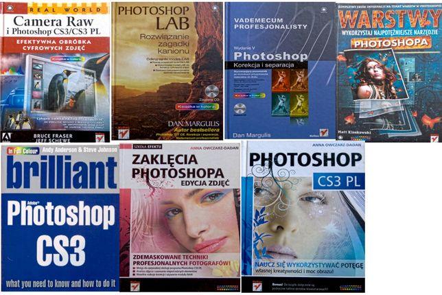 Photoshop zestaw książek w tym bestseller LAB Dan Margulis