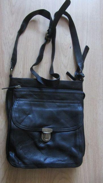 Мужская новая кожаная сумка - планшет Clarks.