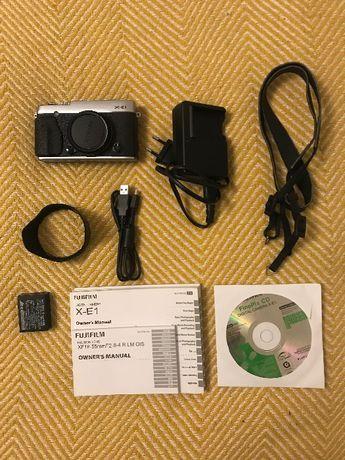 Aparat Fuji Fujifilm X-E1 body srebrne