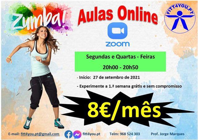 Aulas Online de Zumba Fitness