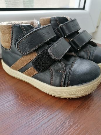 Шкіряні демисезонні черевички ботінки