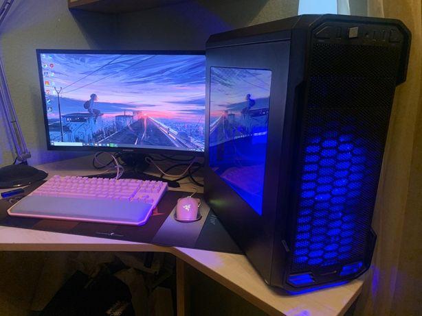 Мощный игровой компьютер/пк, i5-9400f, gtx 1660,ssd,16ddr4,комплект