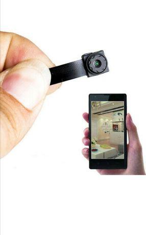 (NOVO) MICRO CÂMERA Espiã com Aplicação em Tempo Real - Audio e Video