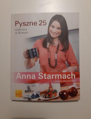 Pyszne 25 Anna Starmach ksiazka kucharska