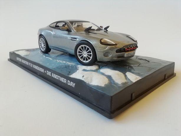 1/43 Aston Martin V12 Vanquish - James Bond (Miniatura - Eaglemoss)