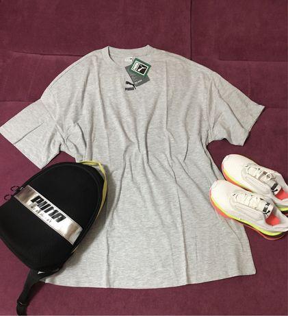 Платье футболка puma (оригинал) s и m