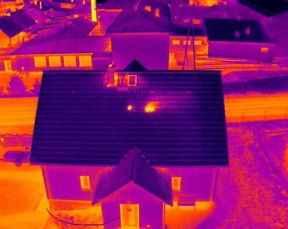 usługi dronem termowizja 640 x 512, filmowanie 4k, zdjęcia Słupsk