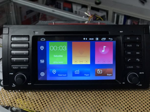 Штатная магнитола BMW E39 (Android 10)