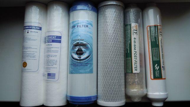 Мембрана, постфильтр, минерализатор, фильтра для воды