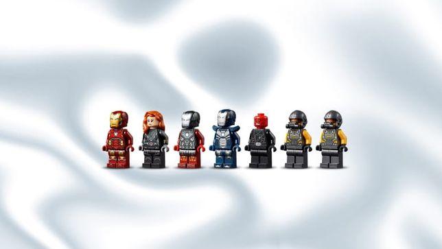 Figurki LEGO Super Heroes z zestawu 76166