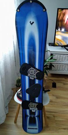 Deska snowboardowa Rossignol plus buty i wiązania