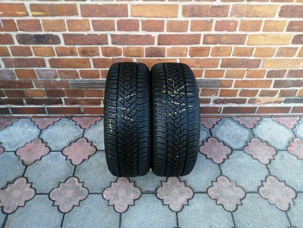 2x opony zimowe 205/55/R16 Dunlop WinterSport5 8,92mm