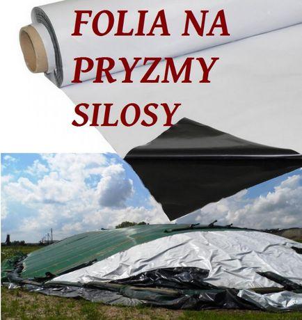 Folia kiszonkarska 6x33 m i inne folie czarno-białe-NA PRYZMĘ/SILOS