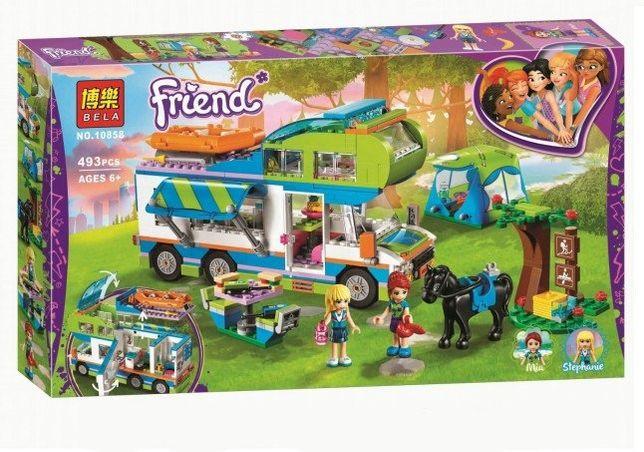 Конструктор Bela 10858 Френдс Дом на колёсах аналог Lego Friends 41339