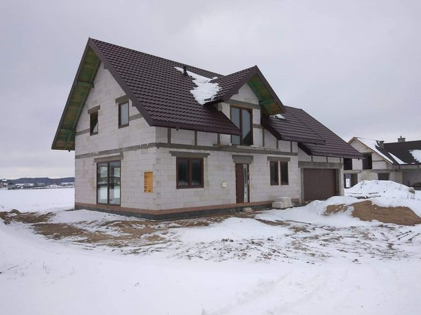REZERWACJA Dom w stanie surowym do wykończenia