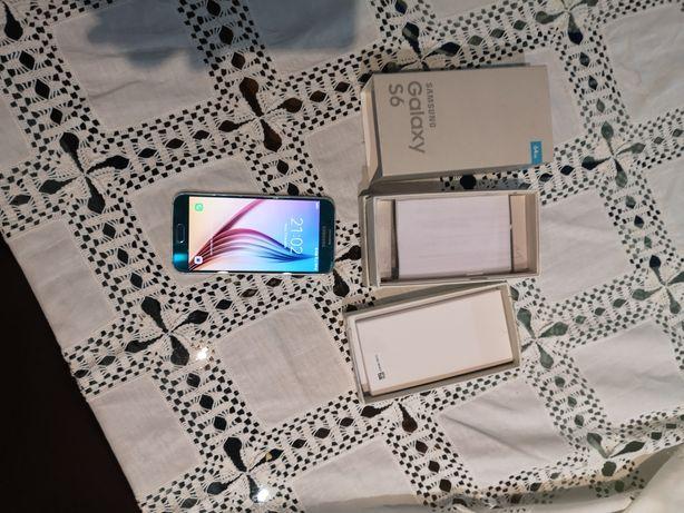 Samsung Galaxy S6 64 GB Azul EM PERFEITAS Condições