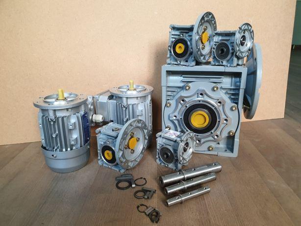 Планетарный мотор редуктор ЗМП червячный NMRV электродвигатель 220В