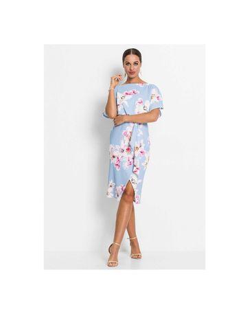 Платье миди 50 52 размер офисное нарядное вечерние коктейльное новое