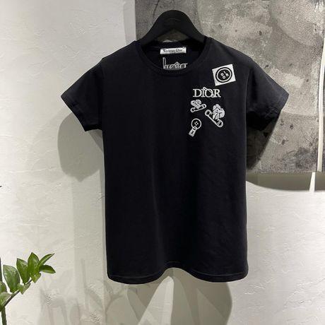 Женская футболка в стиле Dior Диор