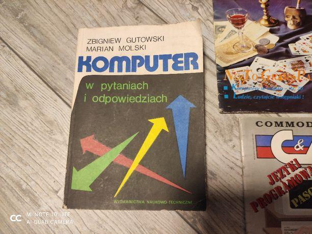 Commodore&Amiga magazyn 1/95 i książka Komputer Zbigniewa Gutowskiego
