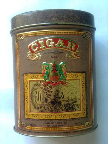 """Флакон с упаковкой из-под """"Cigar """" , ( Parfums Parour ,Франция )"""