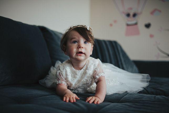 Sukieneczka do chrztu Ewa Płatek Kids Fashion