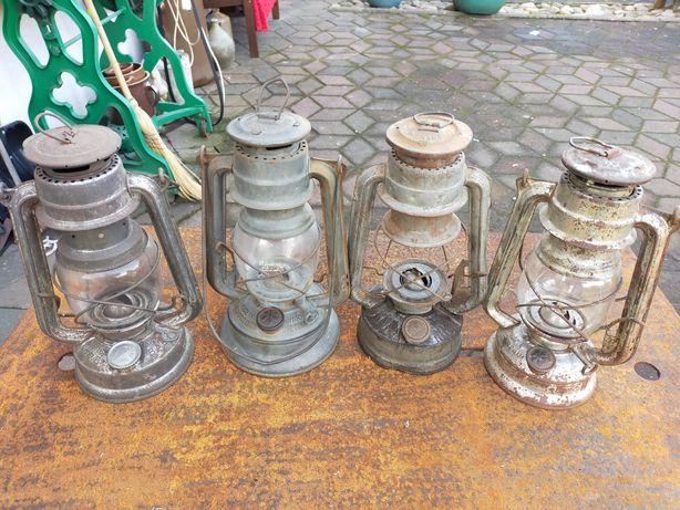 Stare lampy naftowe mewa czeskie
