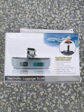 Весы для багажа дорожные электронные до 50кг