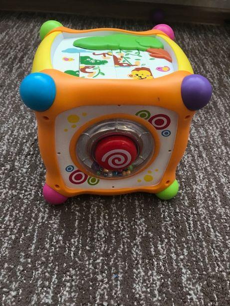 Развивающая игрушка-сортер Huile Toys Волшебный кубик