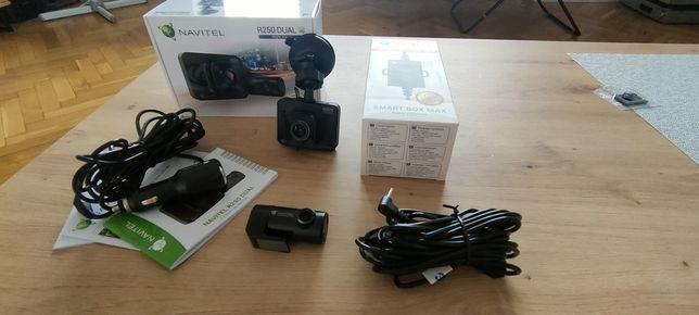 Wideorejestrator NAVITEL R250 Dual + smartbox / Gwar 22msc/ Idealny