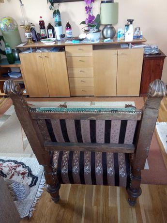 Fotel antyk po renowacji
