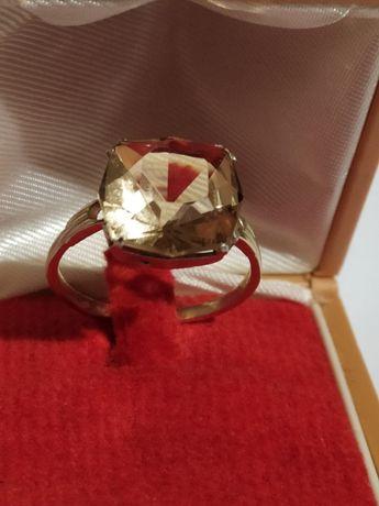 Кольцо СССР из серебра 875 пробы со звездой. РС