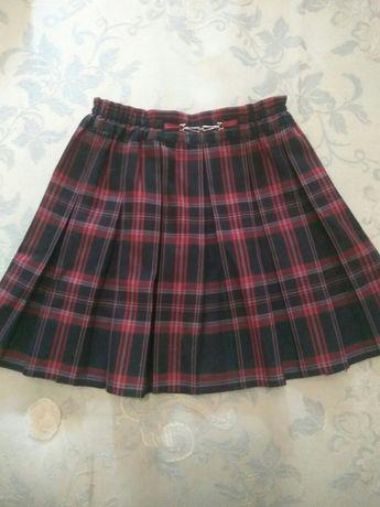 Школьная форма: юбка Велма+ джемпер вязаный 1-2 класс